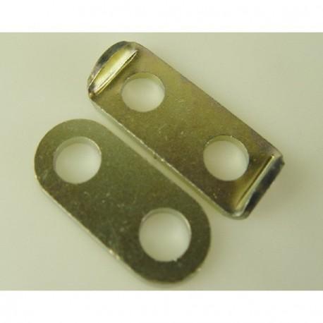 Chapa freno tornillo de sujeción del soporte radiador
