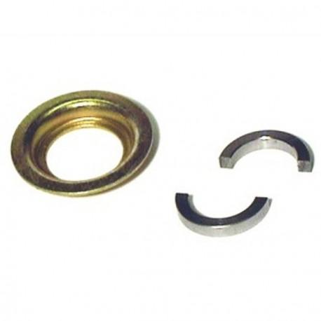 Medios anillos de sujecion del rodamiento