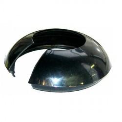 Tapon trasero en negro del volante de direccion
