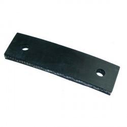 Plaqueta goma de sujeción de tubo de escape - 95mm