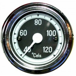 284000 TEMPERATURE GAUGE. BLACK
