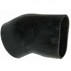 329875 HEATER PIPE RUBBER CURVE