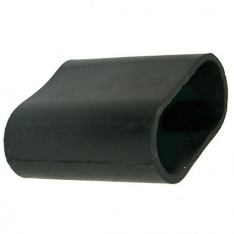 331352 HEATER PIPE RUBBER STRAIGHT