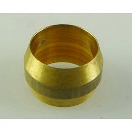 Casquillo de bronce bicono para estanqueidad de tuberia