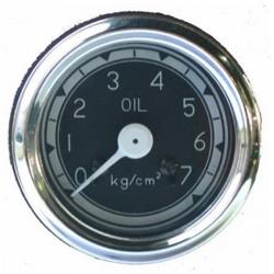 Reloj de presión de aceite - Color: Negro