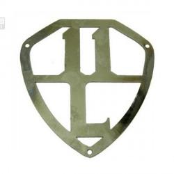 Emblema en inox - 11BL
