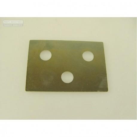 Chapa de ajuste bisagra de puerta en 0,75mm