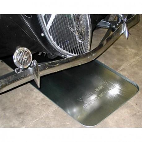 Bandeja metalica para aceite