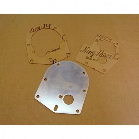 Plate waterpump with gasket Renault 4cv