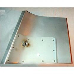 Panel cinturon seguridad trasero - Lado: Izquierdo