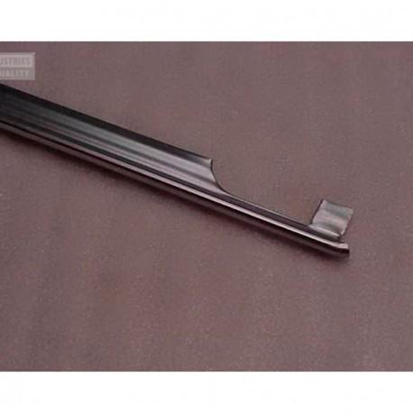 Moldura en aluminio de aleta trasera