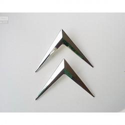 Emblema Chevron Citroen Plastico