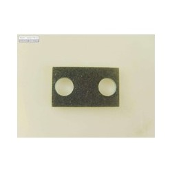 Tornillos y chapa fijacion goma triangular puerta