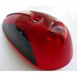 Tulipa intermitencia trasera - Color: Rojo