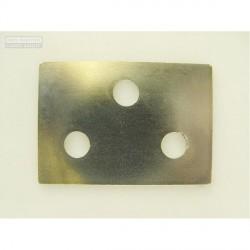 Chapa de ajuste bisagra de puerta - 1.00mm
