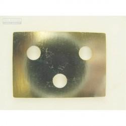 Chapa de ajuste bisagra de puerta - 1.50mm