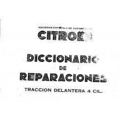 Libro de reparacion Citroen 11cv 250 paginas