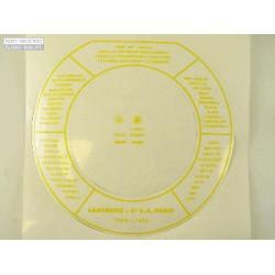 Pegatina filtro de aire Citroen DS