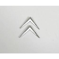 Emblema Chevron Citroen Metal PLATA