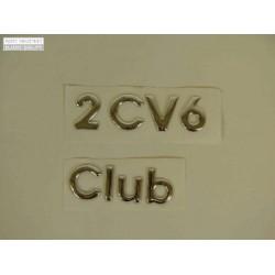 Emblema 2CV6 Club
