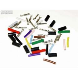 Juego de terminales en color 3mm DS / 2CV