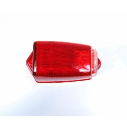 FLASHER PARKING LIGHT GLASS RED